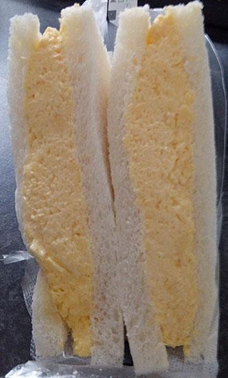 セブンイレブン「バター香るふんわりたまごサンド(260円)」