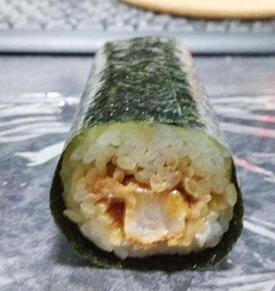 セブンイレブン「手巻寿司 ロースとんかつ巻(150円)」