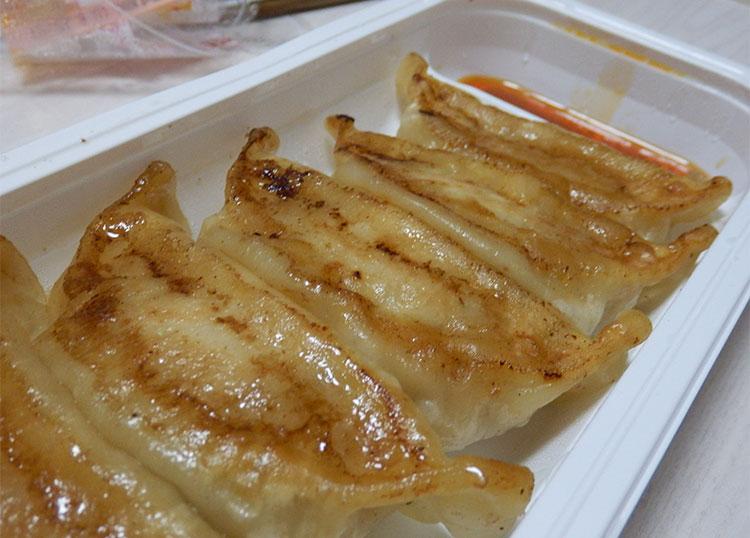 セブンイレブン「もっちりジューシー焼き餃子(230円)」