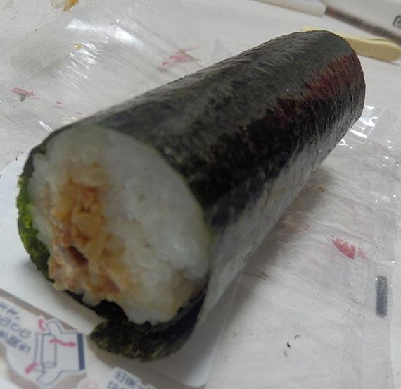 ミニストップ「炭火焼牛カルビマヨ巻(150円)」