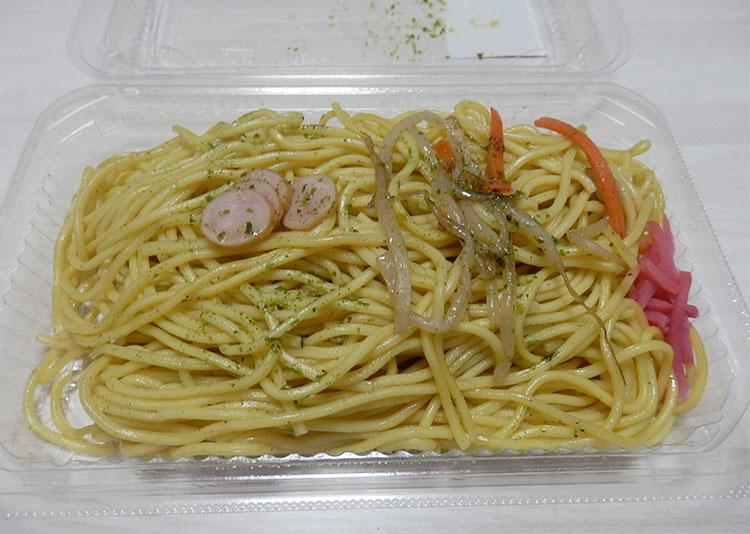 デイリーヤマザキ「塩焼きそば(220円)」