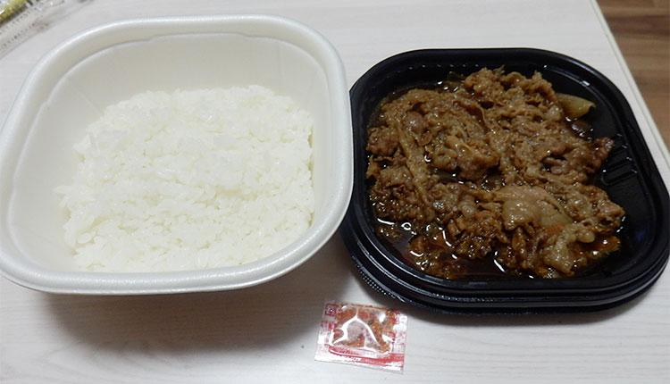 セブンイレブン「特製牛丼アンガス種牛肉使用(398円)」