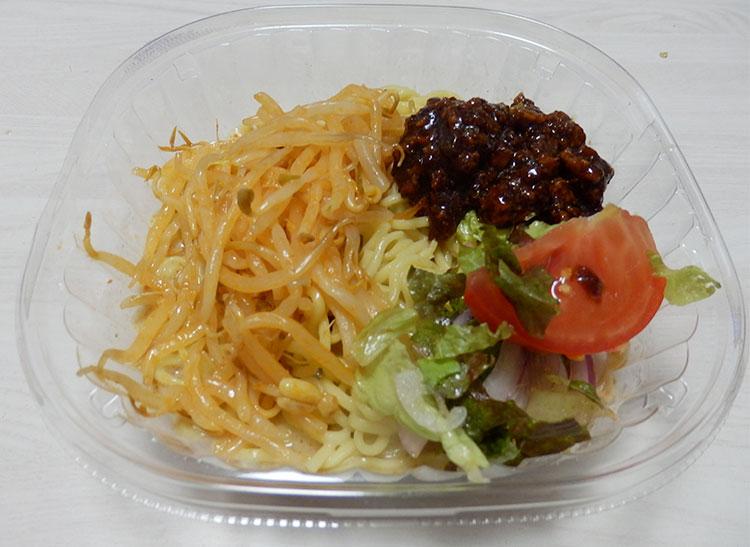 ピリ辛スープの冷し肉味噌担々麺(460円)