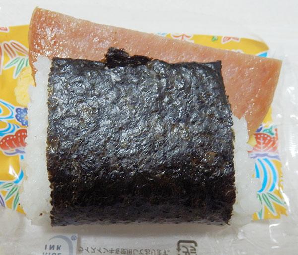 セブンイレブン「ポーク玉子ツナマヨネーズおむすび(190円)」
