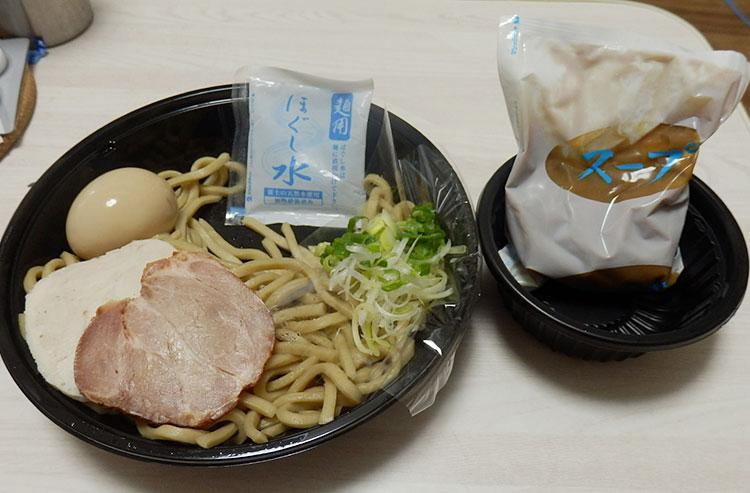 ローソン「麺屋一燈監修 冷し濃厚魚介つけ麺(550円)」