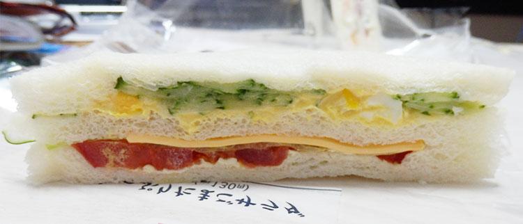 キュウリ・玉子・チーズ・トマト