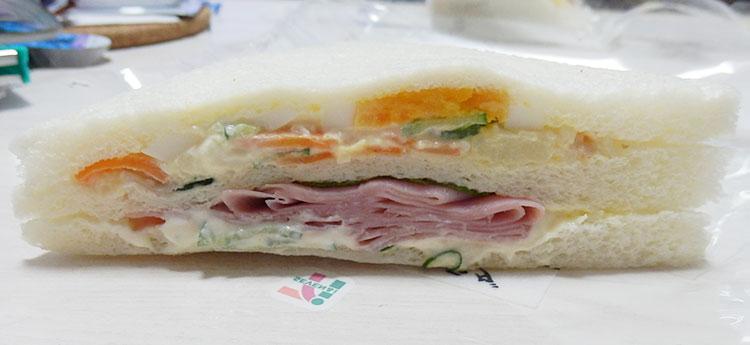 玉子・ポテサラ・ハム・マヨネーズソース