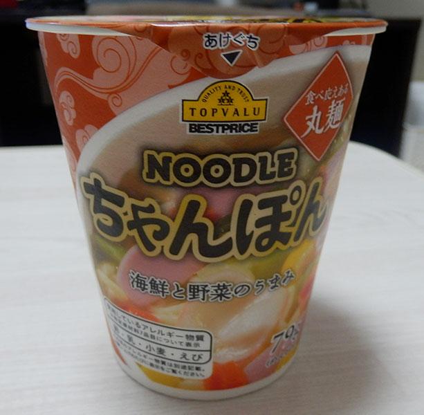 NOODLE ちゃんぽん(95円)