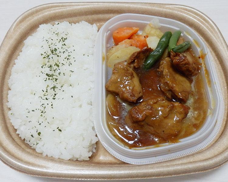 セブンイレブン「バター醤油のトンテキ弁当[豚ヒレ使用](530円)」