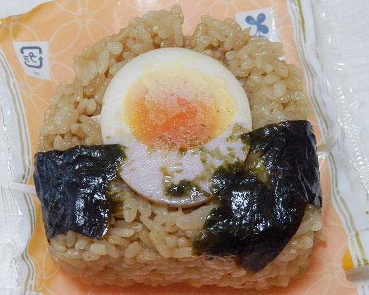 ローソン「煮玉子おにぎり(145円)」