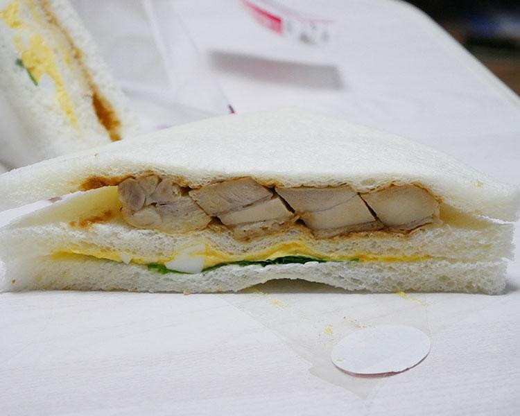 「ローストチキン・玉子」サンド
