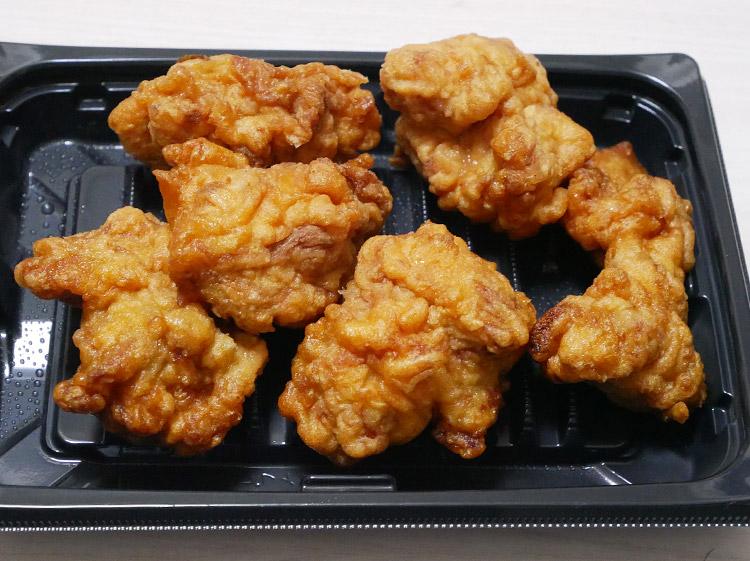 まいばすけっと「2段仕込みのジューシー鶏もも唐揚げ(299円)」
