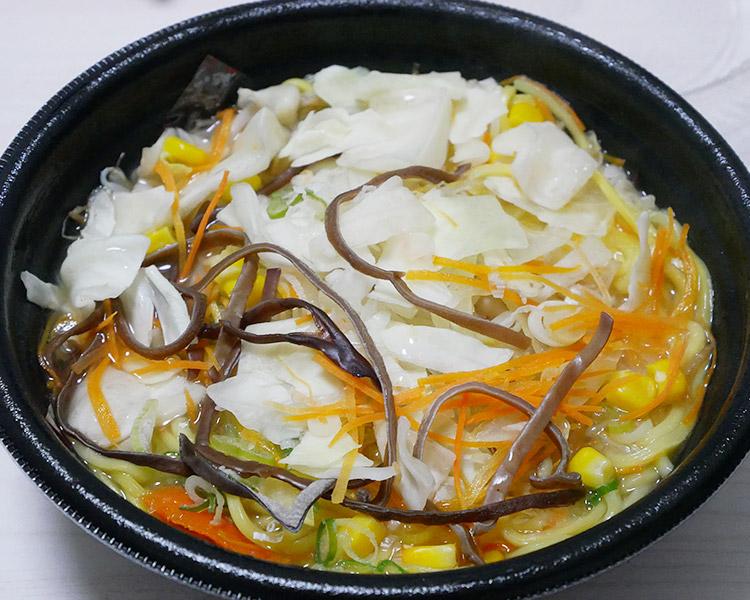 まいばすけっと「1日の3分の1野菜が摂れる彩り野菜タンメン(321円)」
