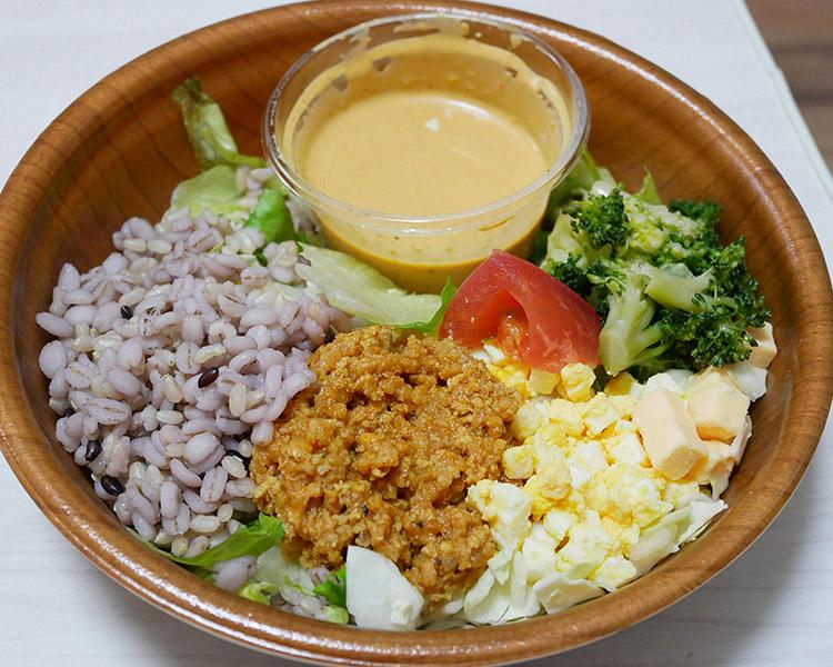 ミニストップ「コブドレで食べるチョップドサラダ(496円)」