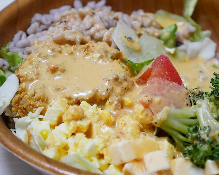コブドレで食べるチョップドサラダ(496円)