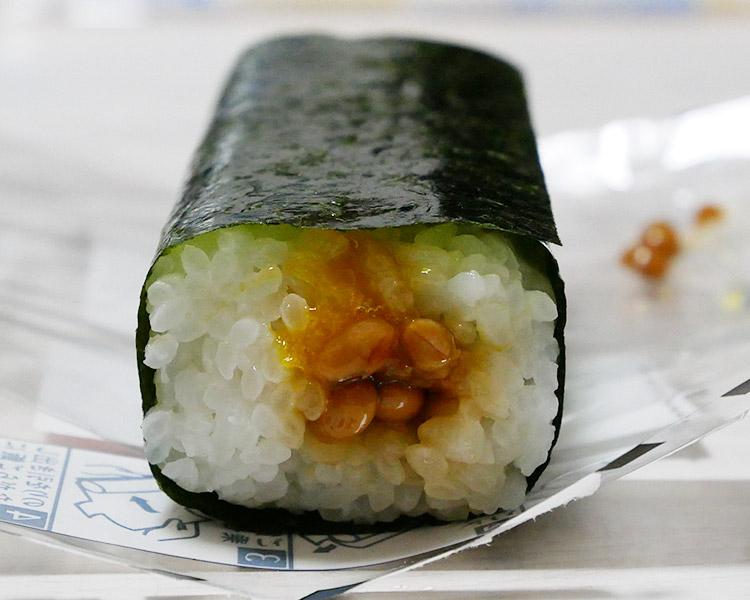 ローソン「手巻寿司 たまご納豆(130円)」