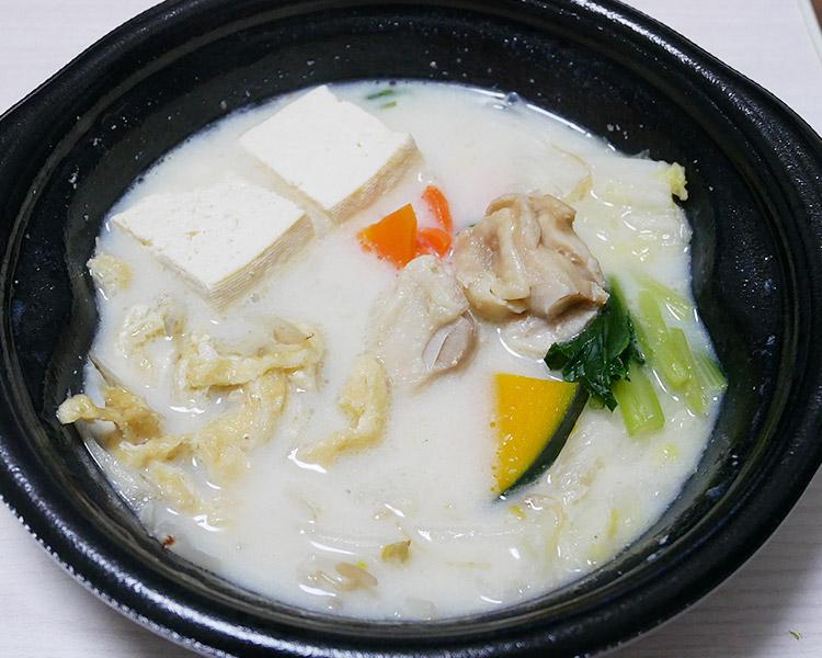 ローソン「鶏肉のごま豆乳鍋(430円)」