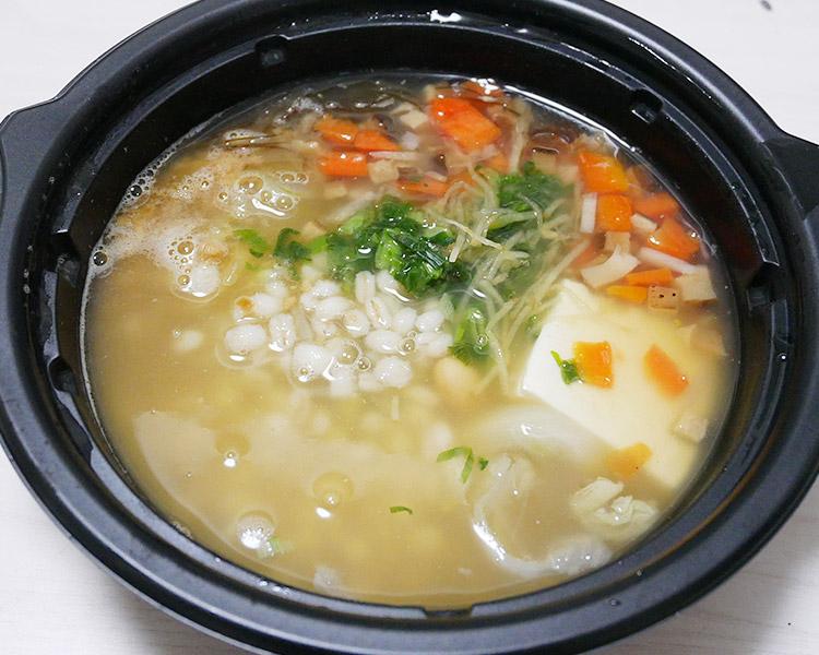 まいばすけっと「11品目の生姜スープ[もち麦入り](321円)」