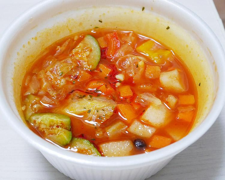 ローソン「10種野菜と豆のミネストローネ(399円)」