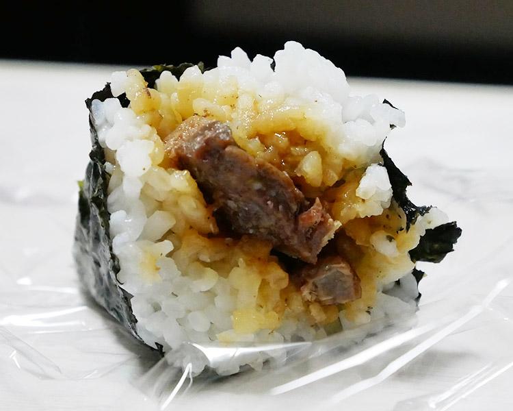 ミニストップ「手巻 牛ステーキおにぎり(150円)」