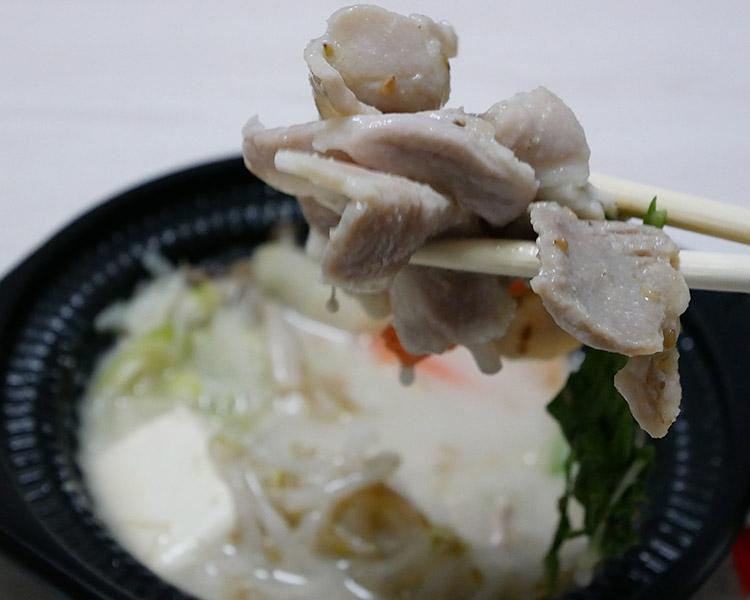 豚肉のごま豆乳鍋