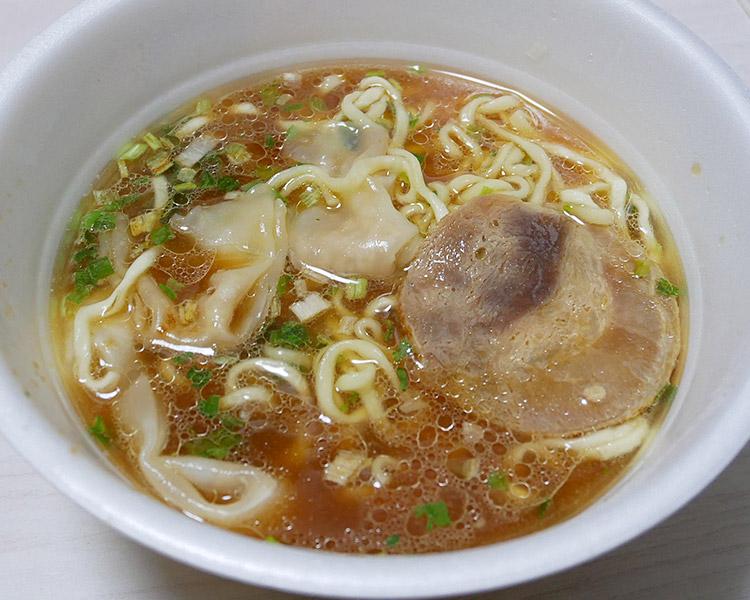 ファミリーマート「とら食堂 ワンタン麺(278円)」