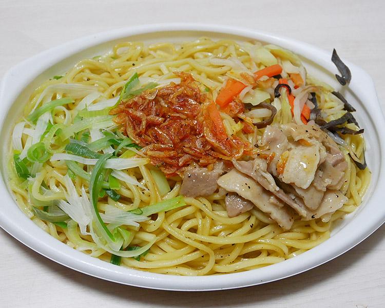 セブンイレブン「麺もっちり!旨塩えび焼そば(430円)」