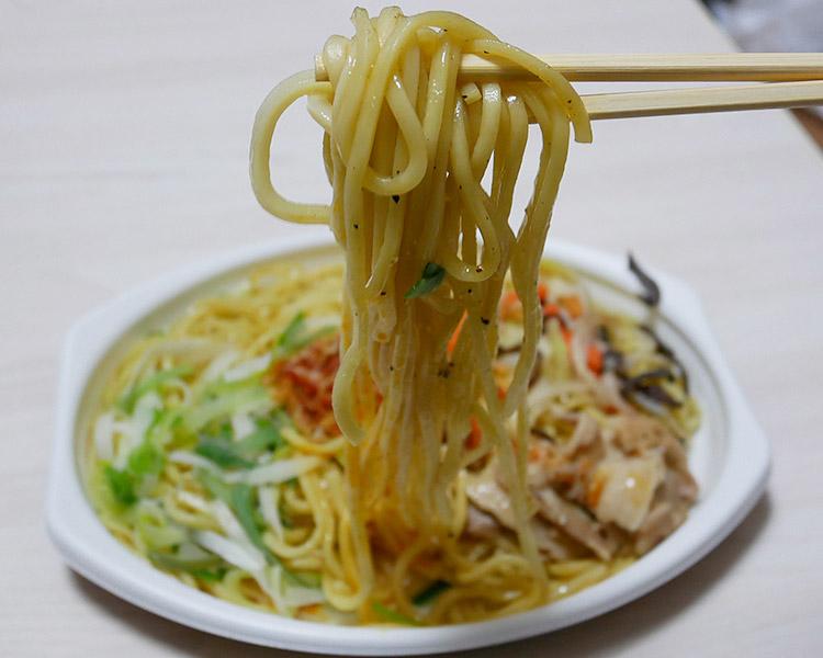 麺もっちり!旨塩えび焼そば(430円)