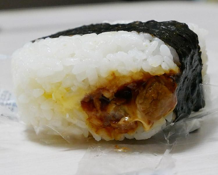 セブンイレブン「サンドおむすび 豚焼肉[にんにく醤油](150円)」