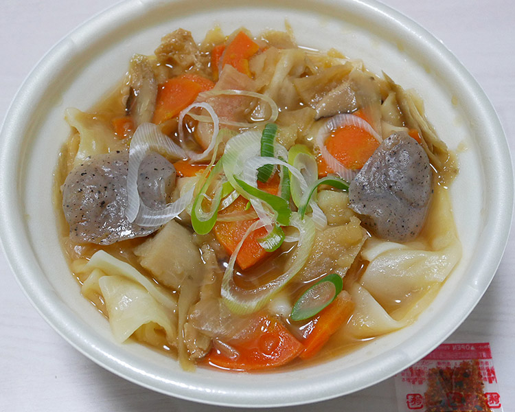 セブンイレブン「もっちり麺の武州煮ぼうとう(398円)」
