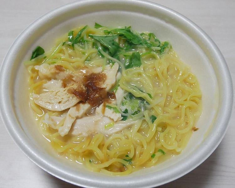 ローソン「鶏白湯ラーメン(498円)」