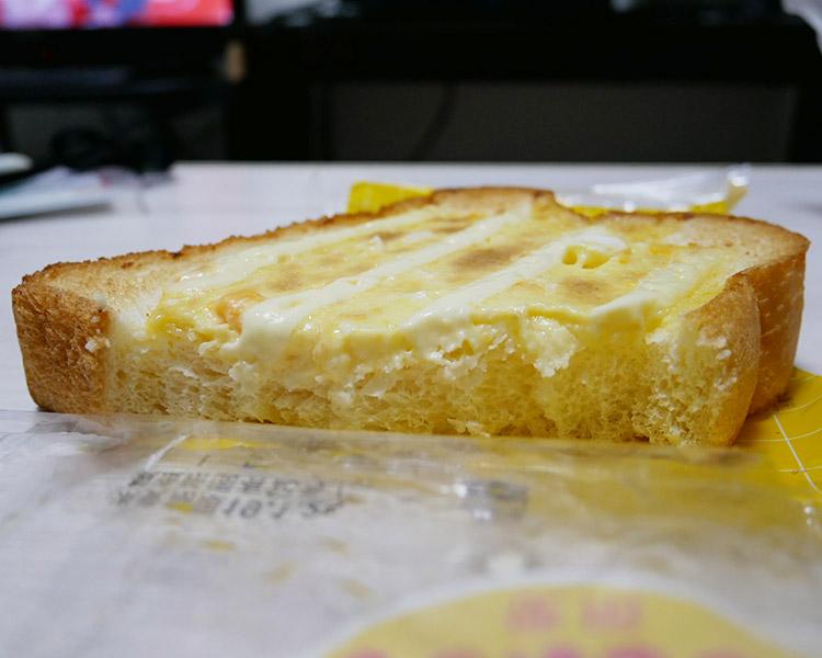 ローソン「たまごマヨ風味トースト(110円)」