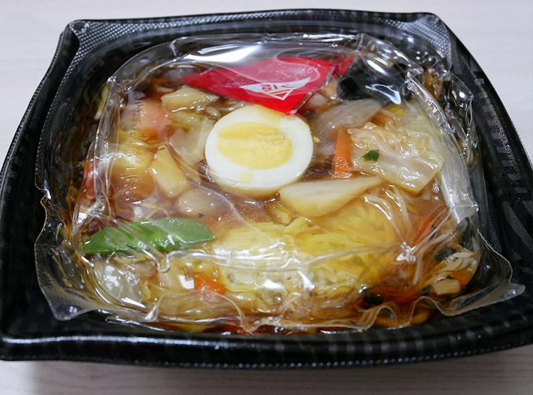 まいばすけっと「野菜あんかけ焼そば(321円)」