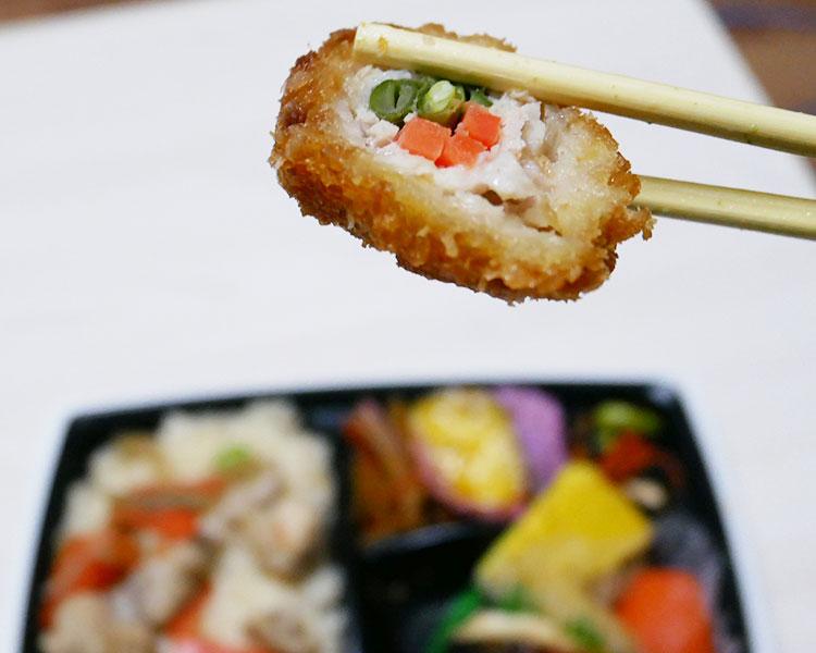 セブンイレブン「お出汁で炊いた!鶏五目御飯の幕の内弁当(498円)」