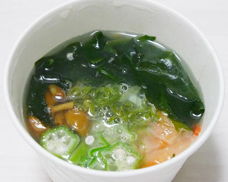 ファミリーマート「ネバネバ生姜スープ(298円)」