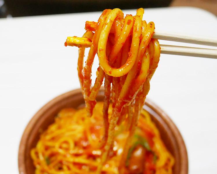 デイリーヤマザキ「太麺ナポリタン(398円)」