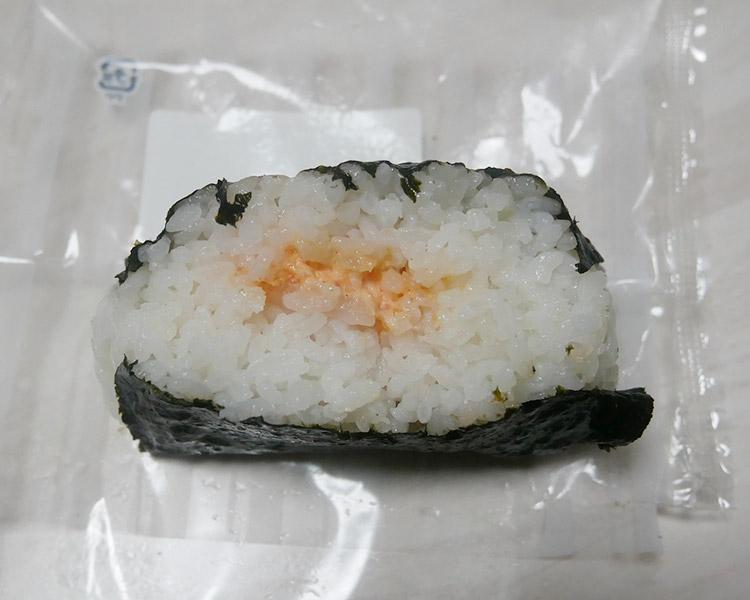 デイリーヤマザキ「大きなおむすび[明太子マヨネーズ](160円)」
