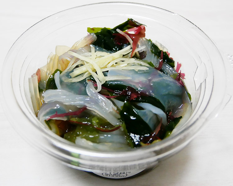 まいばすけっと「おだしの風味香る海藻とこんにゃく(213円)」