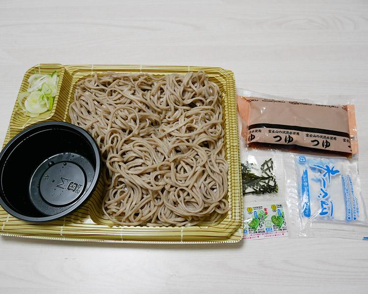 ポプラ「ざるそば(350円)」