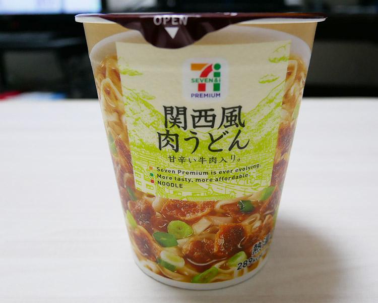 関西風肉うどん(105円)