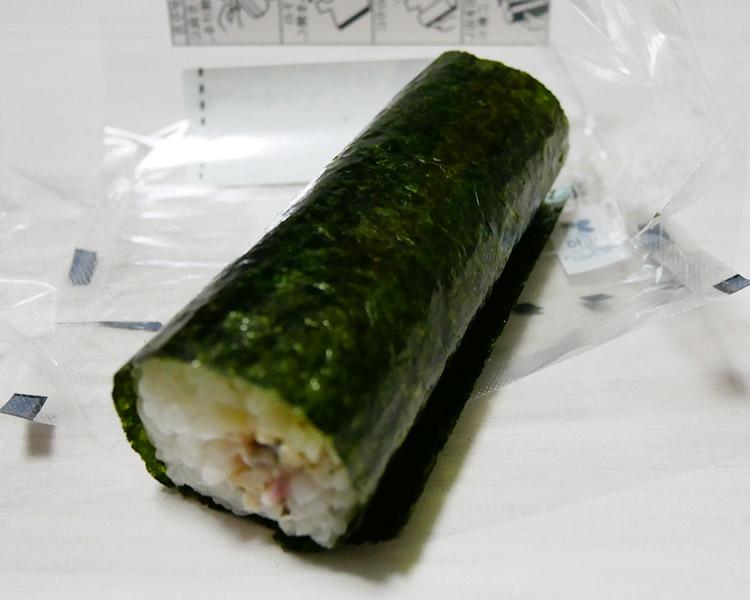 ローソン「手巻寿司 蒸し鶏の梅しそサラダ(150円)」