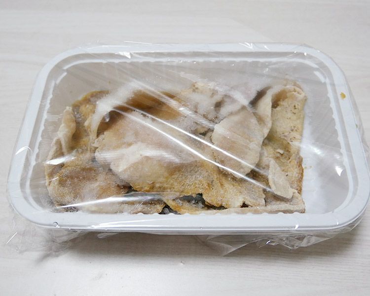 セブンイレブン「冷凍食品 レンジで豚の生姜焼き(291円)」