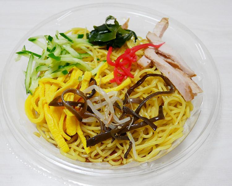 ポプラ「冷し中華(470円)」