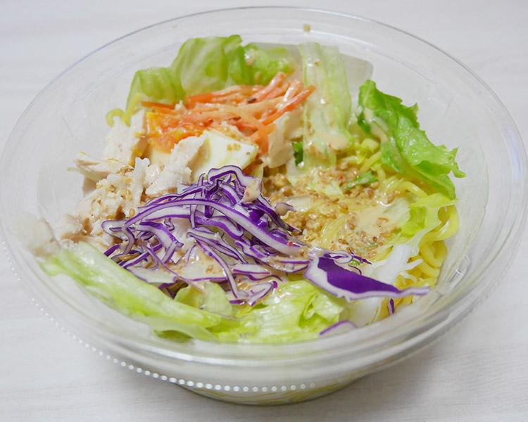セブンイレブン「胡麻ドレッシングのサラダラーメン(300円)」