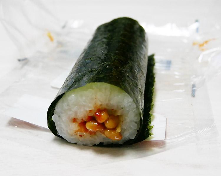まいばすけっと「手巻寿司 納豆キムチ(105円)」