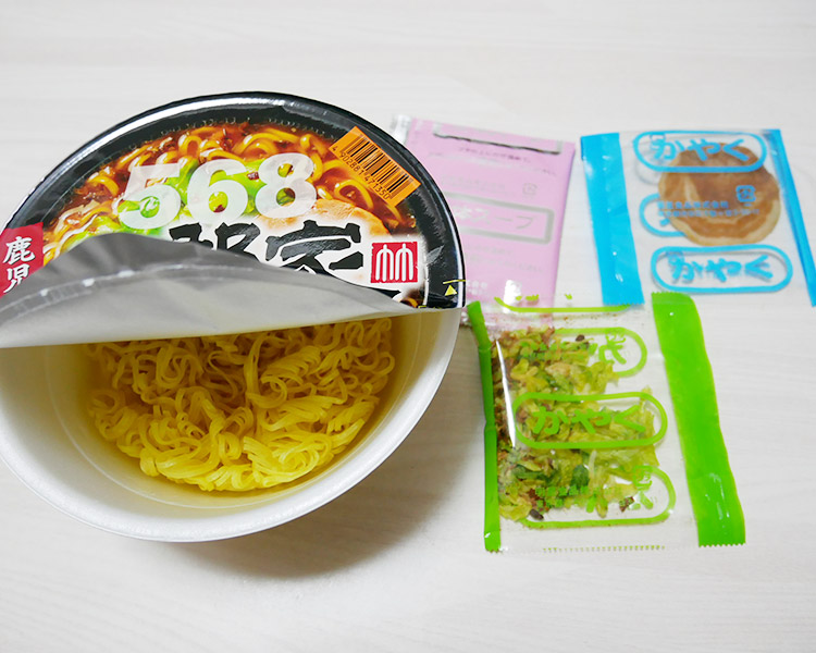 ローソン「五郎家 しょうゆ豚骨ラーメン(258円)」