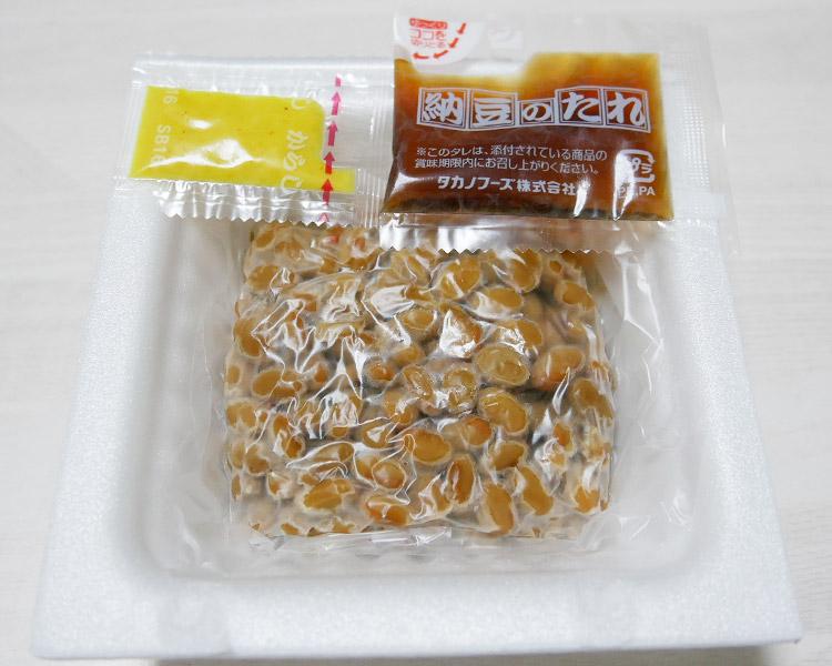 ローソン「極小粒納豆 50g×3(84円)」