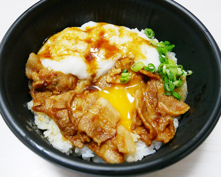ローソン「とろろ大王のネバネバ豚丼[もち麦入りご飯](530円)」