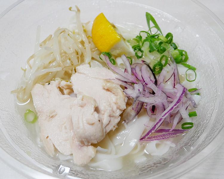 ローソン「鶏肉の冷製もちもち生フォー(480円)」