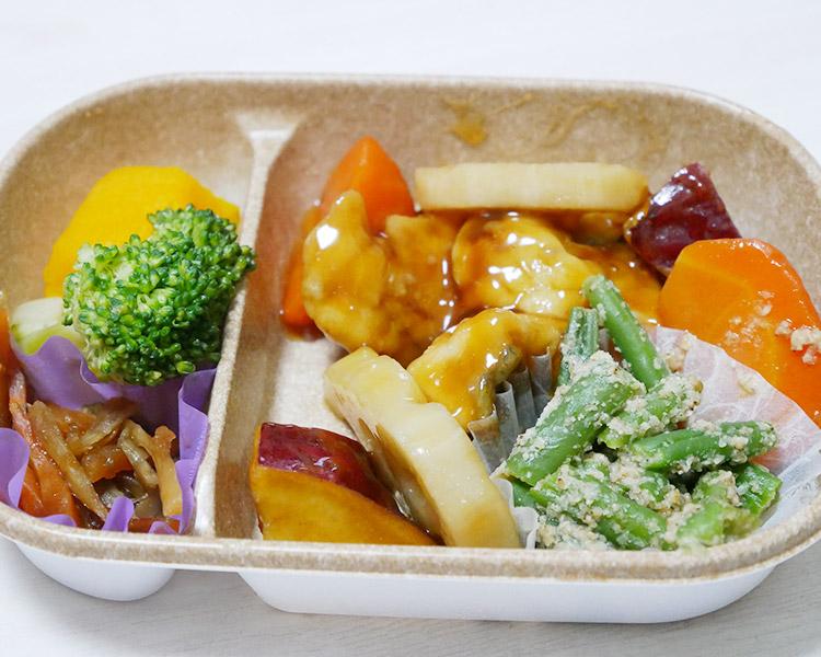 セブンイレブン「ひじきご飯と白身魚の黒酢あん弁当(486円)」